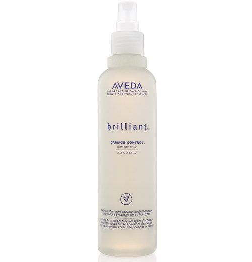 Aveda Brilliant Damage Control Spray to keep your hair clear of heat damage while styling or detangling. | 30 Amazing Products Hairstylists Actually Swear By