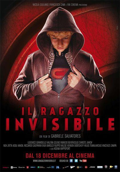 Gabriele SALVATORES, Il ragazzo invisibile, Italia, 2014,  Con Ludovico Girardello, Valeria Golino, Fabrizio Bentivoglio, Christo Jivkov, Noa Zatta.