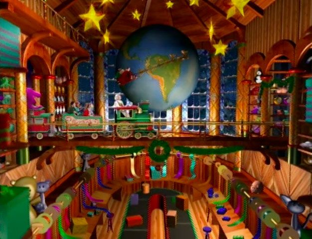 Barney's night before Christmas movie I used to think this was so magical