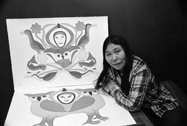 """Kenojuak's Birds - 50 Watts-""""One of the best known and most acclaimed Inuit artists of the last 50 years, Kenojuak Ashevak, is being remembered by many across Canada this week....Ashevak began contributing to the famed Cape Dorset print collections in 1959, and [...] contributed to them every year since, right up until the fall 2012 release."""" [continue reading at Canadian Art]"""