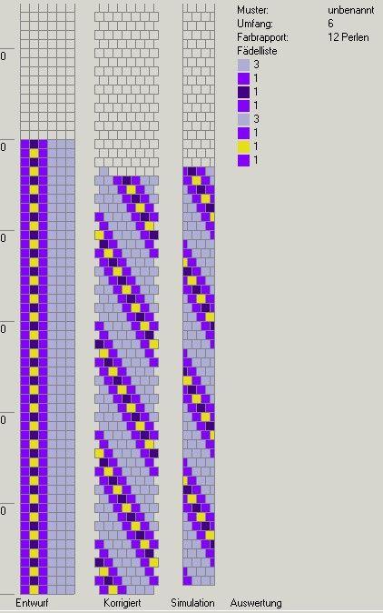 Schlauchketten häkeln - Musterbibliothek: pat_bcr_23_gd