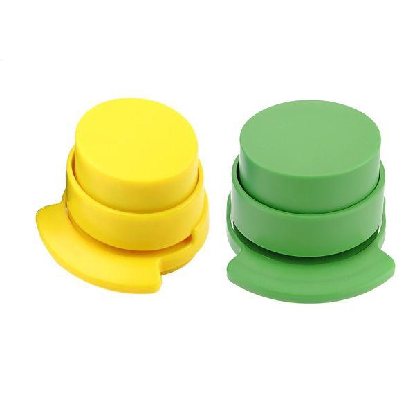 10pack (3pcs Stapleless Free Stapler Paper Binding Binder Office Student Stationery UK