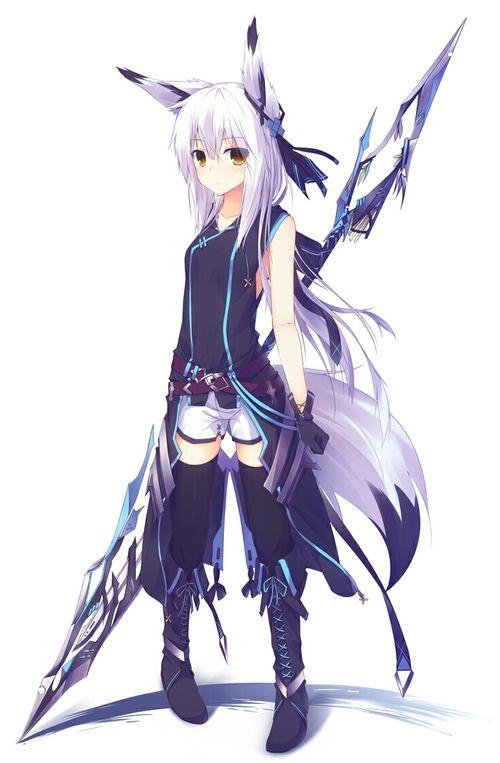 Anime Wolf Girl, Anime Neko, Anime