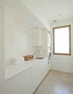 Middle Harbour House - Contemporary - Laundry Room - sydney - by Richard Cole Architecture