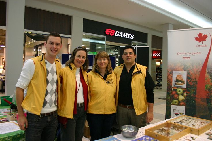Event organizers at the Agriculture in the City Festival - Burlington Mall