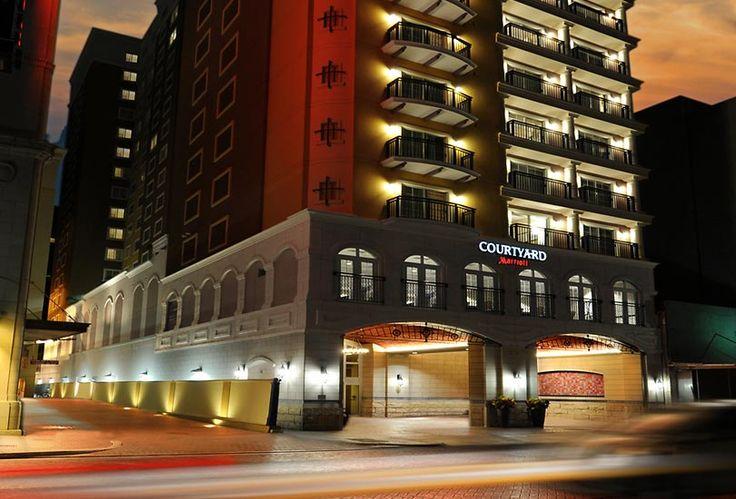 San Antonio Riverwalk Hotels   Marriott Courtyard San Antonio Hotel on Riverwalk