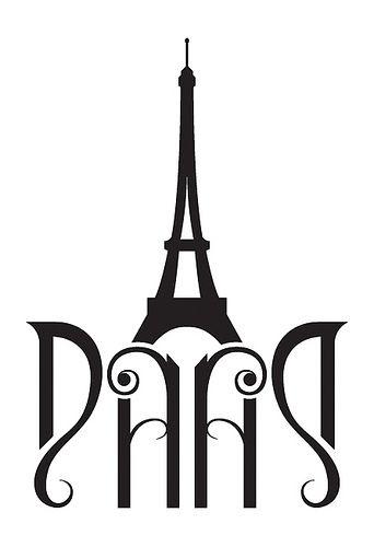 Paris ambigram