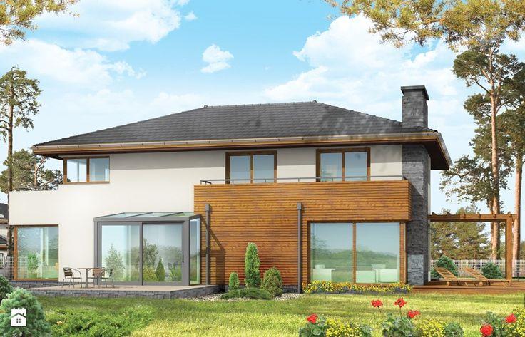 Projekt Południowy - Domy - Styl Nowoczesny - MG Projekt Pracownia Architektoniczna