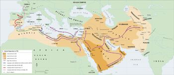 a history of the spread of religion through conquest History of religion through conquest using the sword there may have been peaceful conversions but islam had built an empire that spread from the middle.
