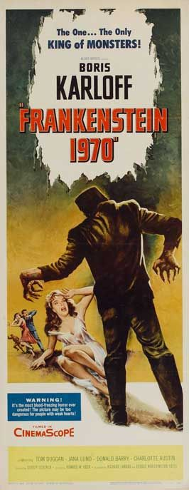 1970S Movies | Frankenstein 1970 Movie Posters From Movie Poster Shop