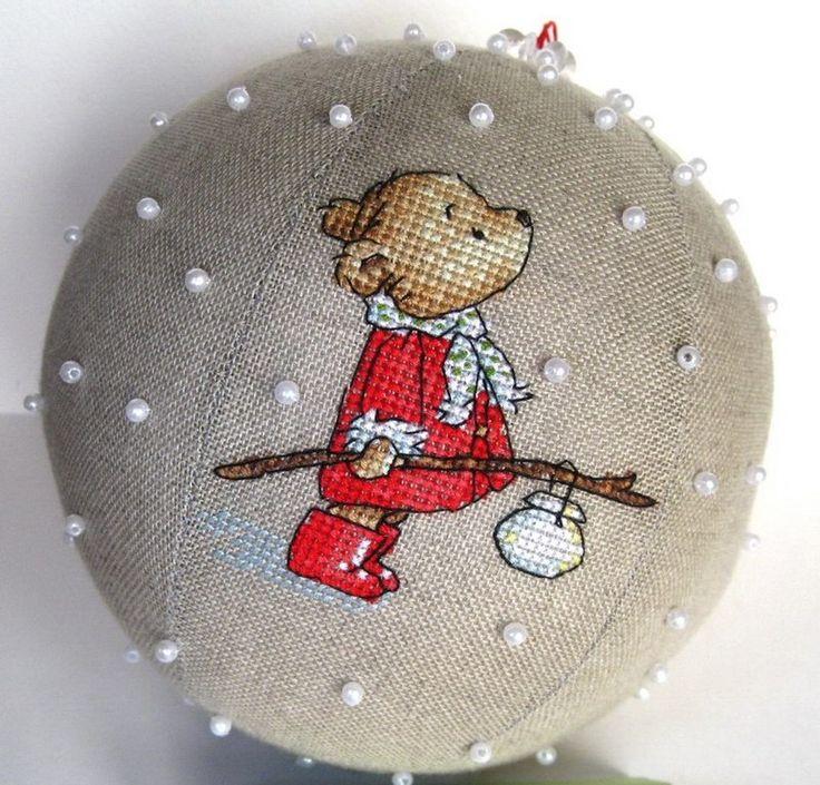 Новогодний шар своими руками, шар на елку своими руками | Домоводство для всей семьи