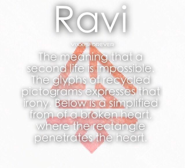 Ravi Voodoo Doll symbol meaning | *••~| VIXX ...