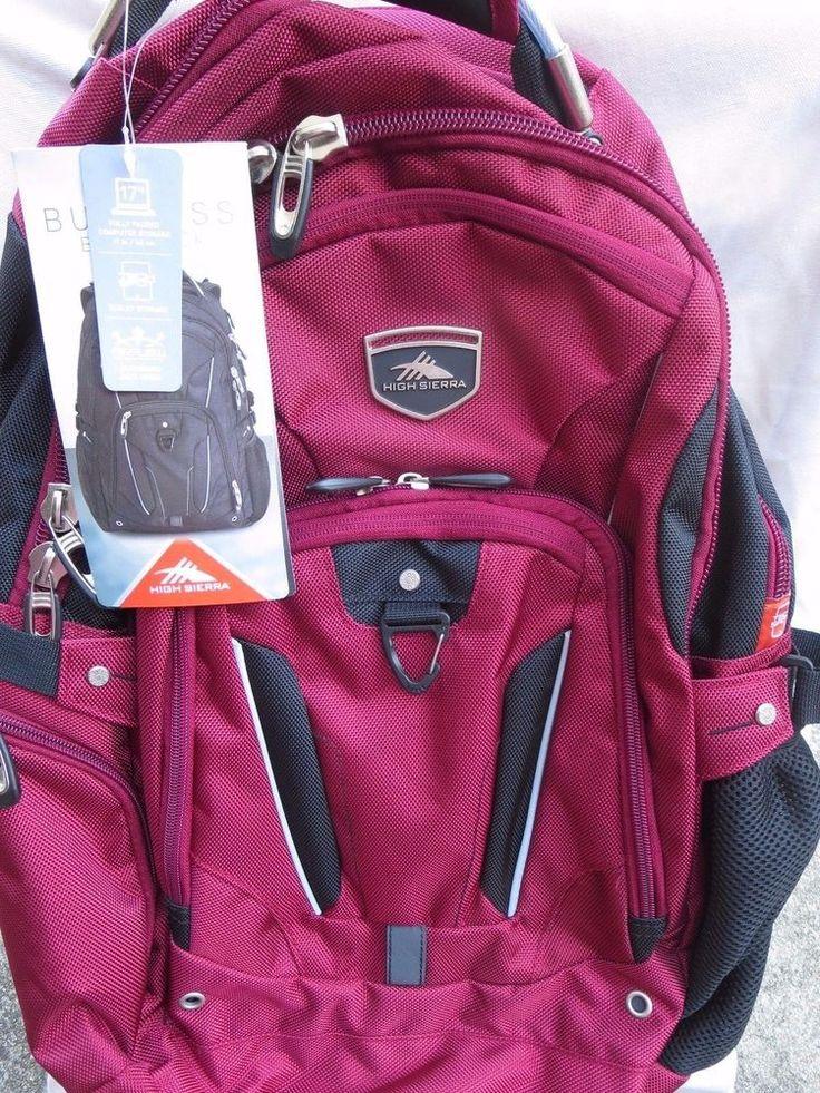 pink elite backpack