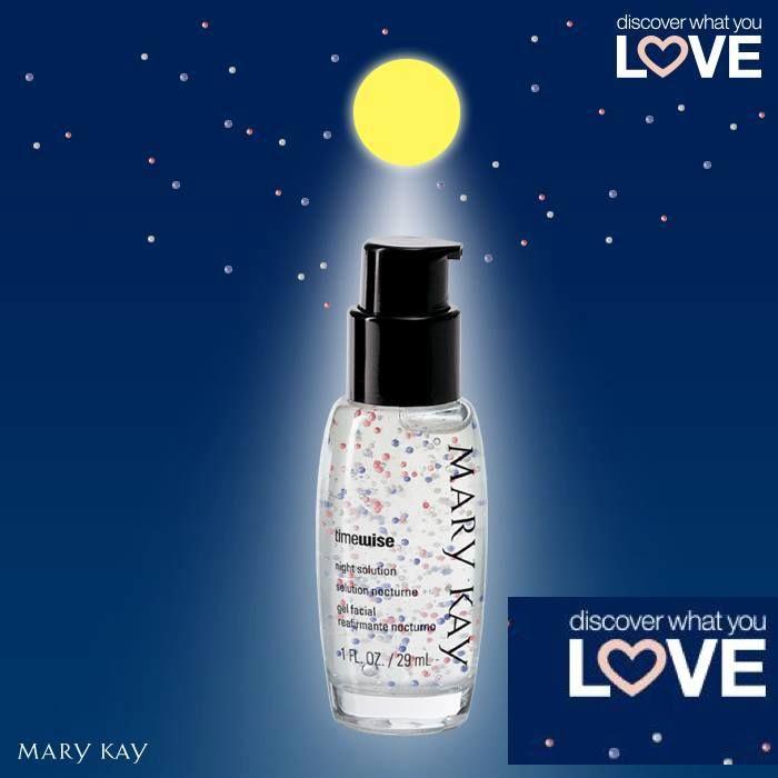 Mary Kay Timewise solución de noche!!! Ideal para renovar tu piel mientras duermes!! Te aporta el colágeno y la elastina que necesitas.
