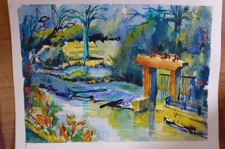 Mill Chambrot on the Tardoire