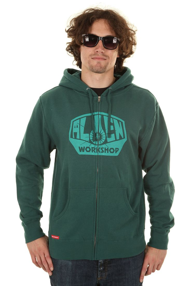Alien Workshop OG Logo Zip-Hoodie (dark teal)