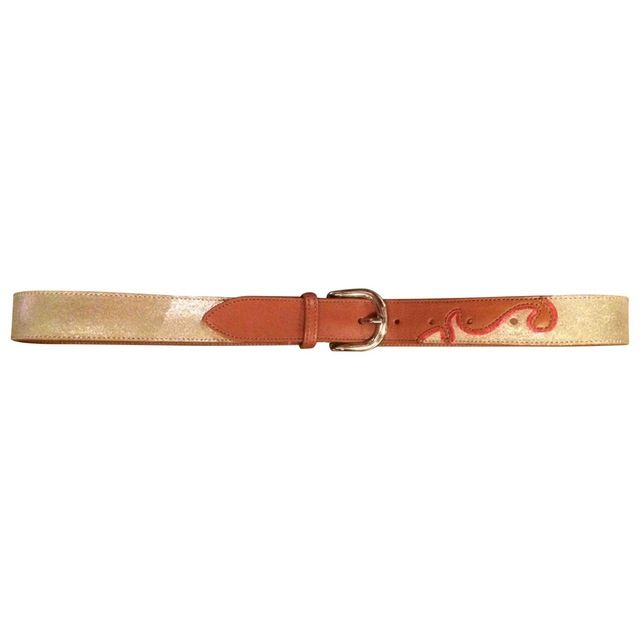 ISABEL MARANT ETOILE LEATHER BELT