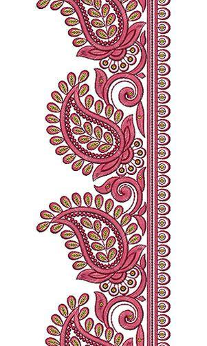 Antique Vintage Lace Embroidery Design