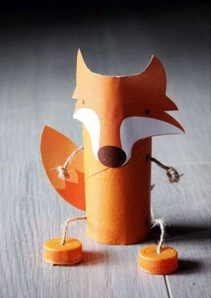 Marionnette Renard sur Laboratori per bambini                                                                                                                                                                                 Plus