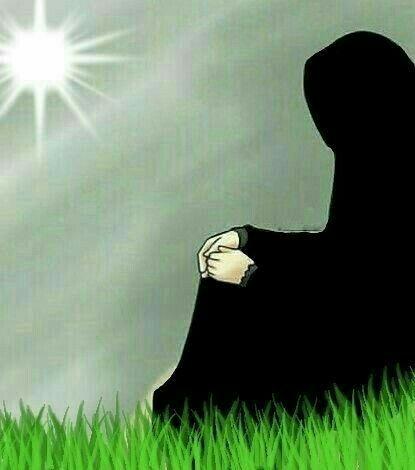 Картинки про грусть исламские