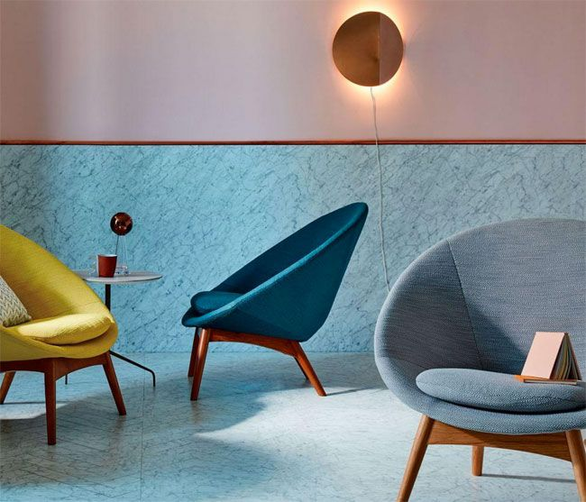 Midcentury-style Luna Chair at West Elm