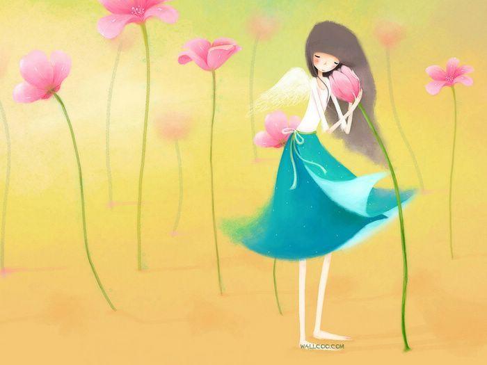 Dream of Echi - Echi Illustrations (Vol.02)   - Elegant Echi Girl - Beautiful Echi Illustration Wallpaper 15