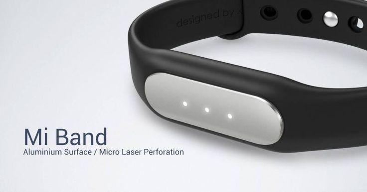 Xiaomi Mi Band is a simple, no-nonsense wearable $13!!!