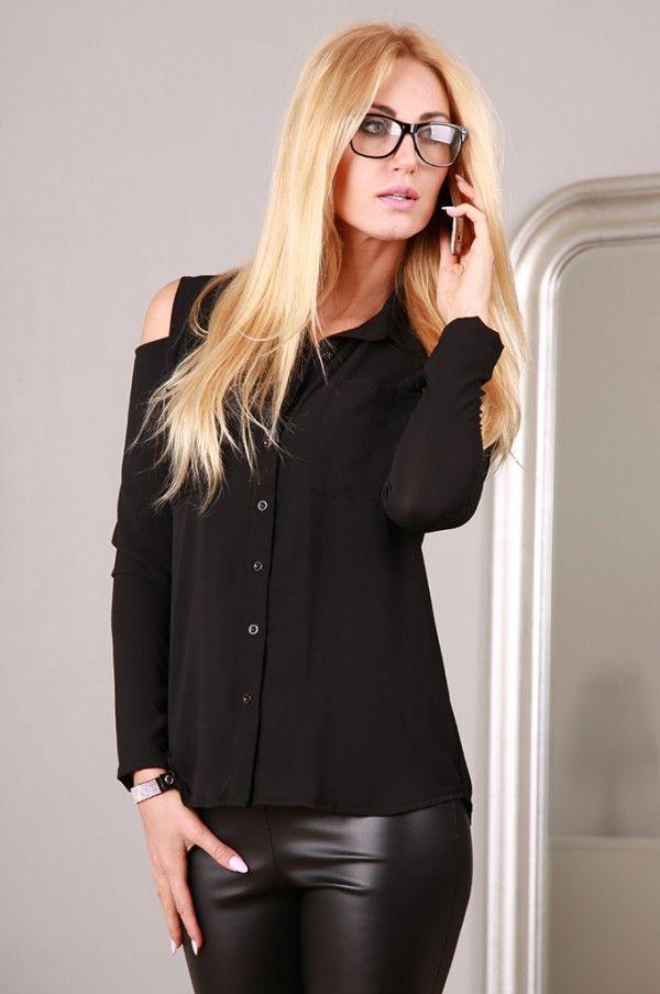 Koszula czarna 2740