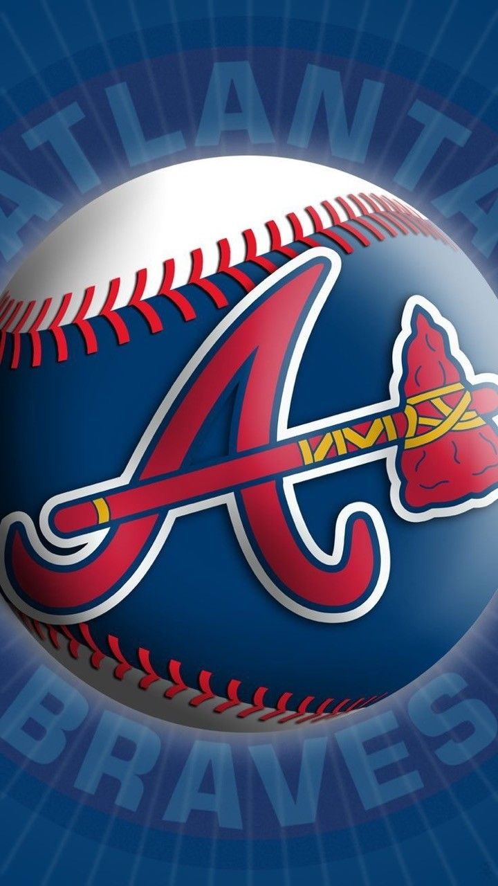 Pin By Stephanie Balagtas On Kindness Rocks In 2020 Atlanta Braves Wallpaper Atlanta Braves Logo Atlanta Braves Baseball