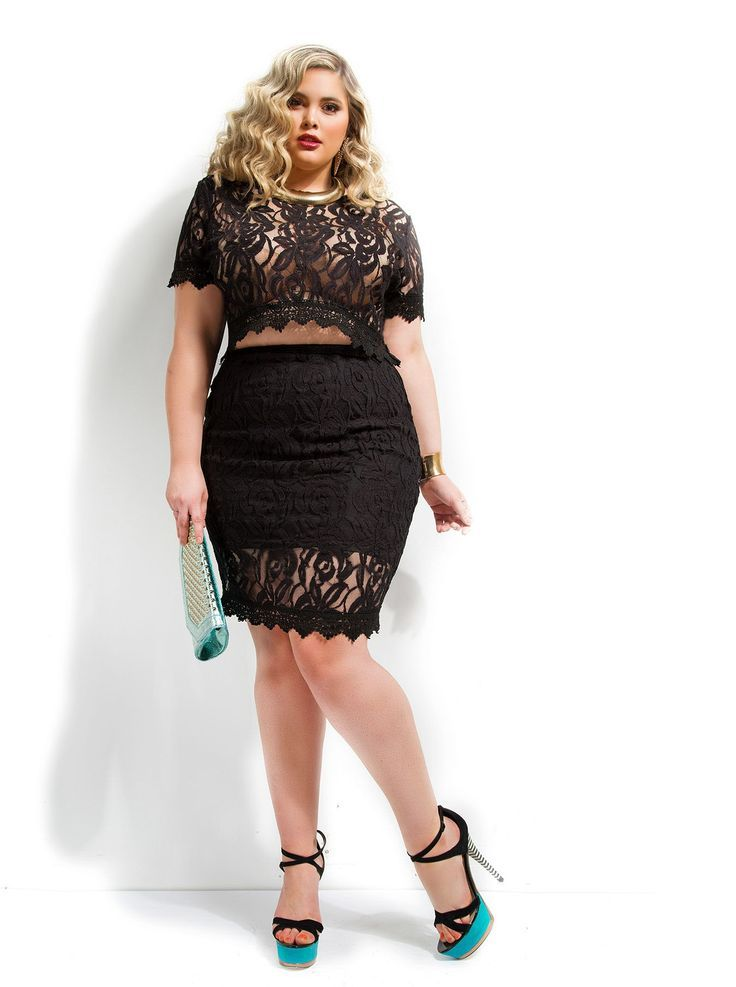Last updated on November 5th, 2016 at 10:53 pm A lace set is super chic and sexy if you choose it in a pencil skirt. A clubbing outfit for a plus size girl is perfect in black and the cropped… Continue Reading →