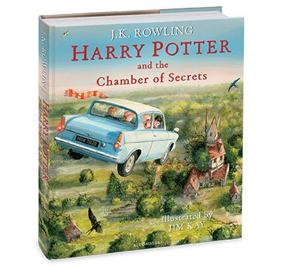 Harry Potter | Harry Potter and the Chamber of Secrets Illustrated Edition - J.K.Rowling and Jim Kay