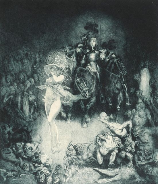 Norman Lindsay Etching The Innocents 1925 Day Fine Art
