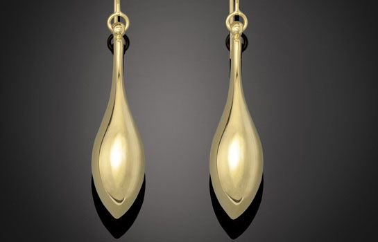 Stunning new 9 karat High Fashion Earrings. Available in yellow, white and rose gold. MADE IN ITALY