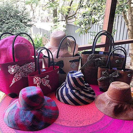 Our #Spring Collection of hats & #baskets has just arrived. Plenty of pretty vibrant & classical colours to choose from. Available in both #Leura & #OrangeNSW boutiques. Prices start at $36.