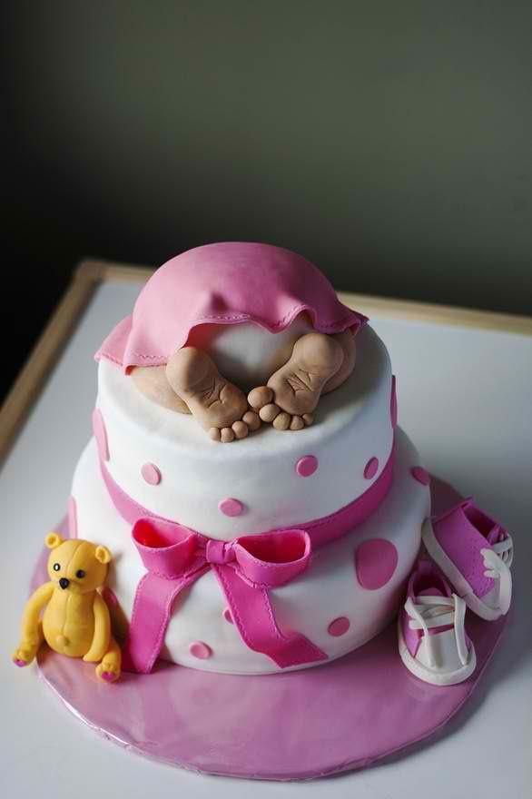 new bundle of joy baby girl cakescake