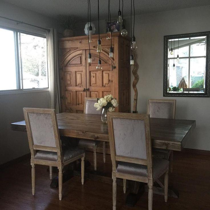 die 25+ besten ideen zu homemade dining room furniture auf, Esszimmer dekoo