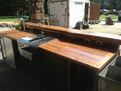 this outdoor bar countertop is one of a kind bar countertops outdoor