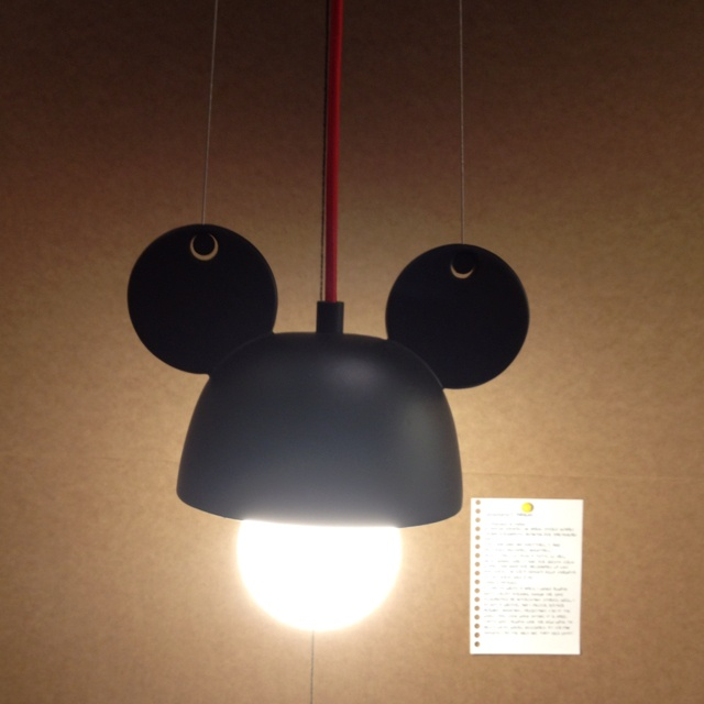 Mikey mouse lamp