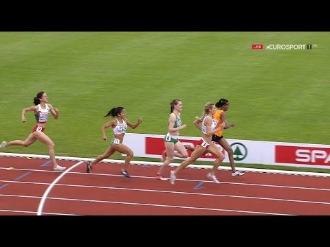 European Athletics Champs Amsterdam 2016 1500 m WOMEN (Rd-1 Heat1-2) [FU...