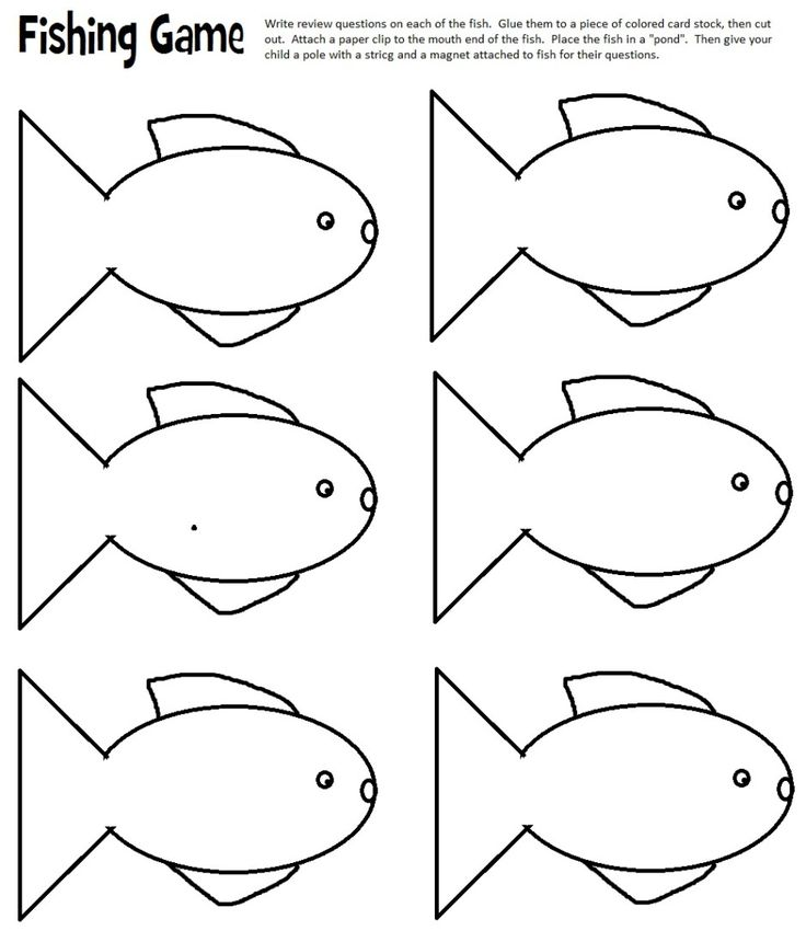 Best 25 Fish Template Ideas On Pinterest