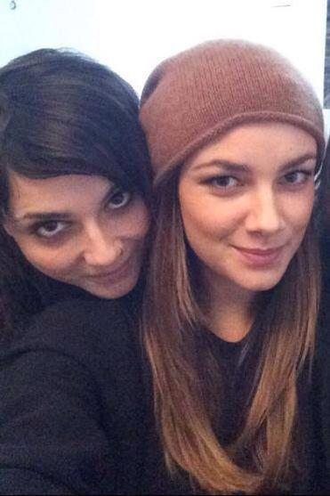 Linda ( Anni ) and the adorable Janina ( Jasmin )