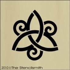 Triquetra is Celtic (I'm of Irish descent) and the three spirals represent the three elements (AKA, this represents balance between Mind, Body, Soul, Earth, Water and Air).