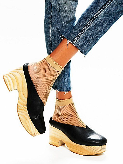 Free People: Brea Clog (ok, not a flat but with platform, close