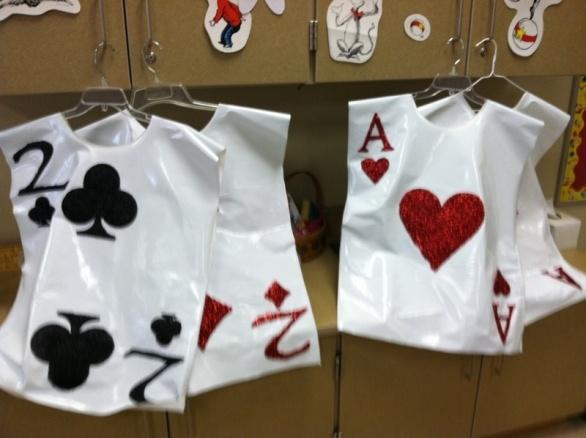 Alice in Wonderland, Jr. Costumes for Sale