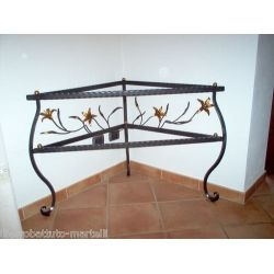 Wrought Iron Consolle Furniture. Customize Realizations. 303