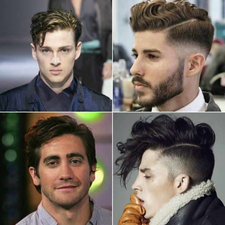 locken frisuren männer seitenscheitel ideen wellen wavy look