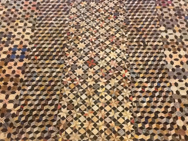 Patricia quilts at home: The Quilt Museum in York (England)
