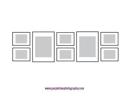 Picture frame arrangements « Purple Tree Photography's Weblog