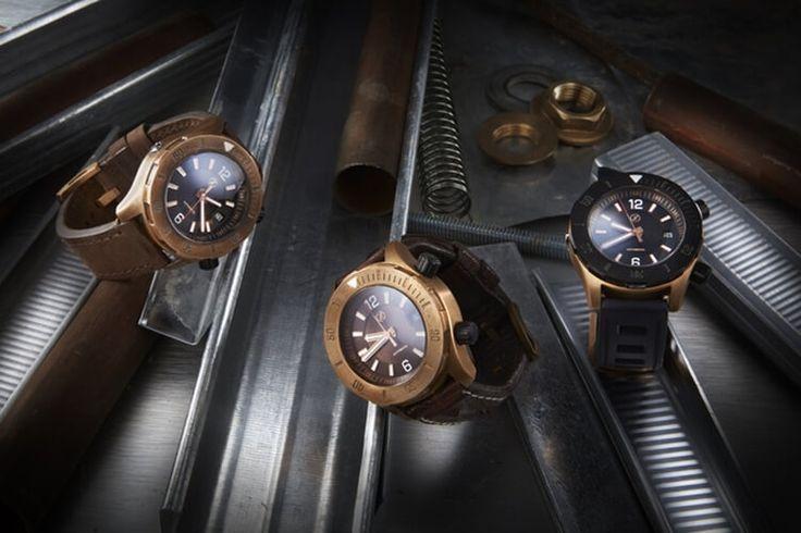 Water Resistant Watch: Zelos Abyss Bronze