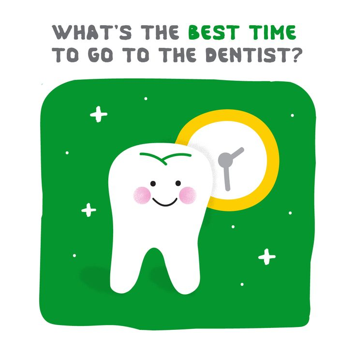 Dental Joke: What's the best time to go to the dentist? TOOTH-HURTY! :)